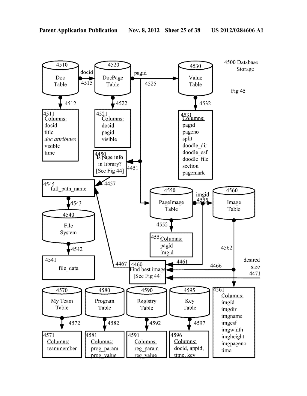 System And Methodology For Collaboration Utilizing Combined Display With     Evolving Common Shared Underlying Image - diagram, schematic, and image 26
