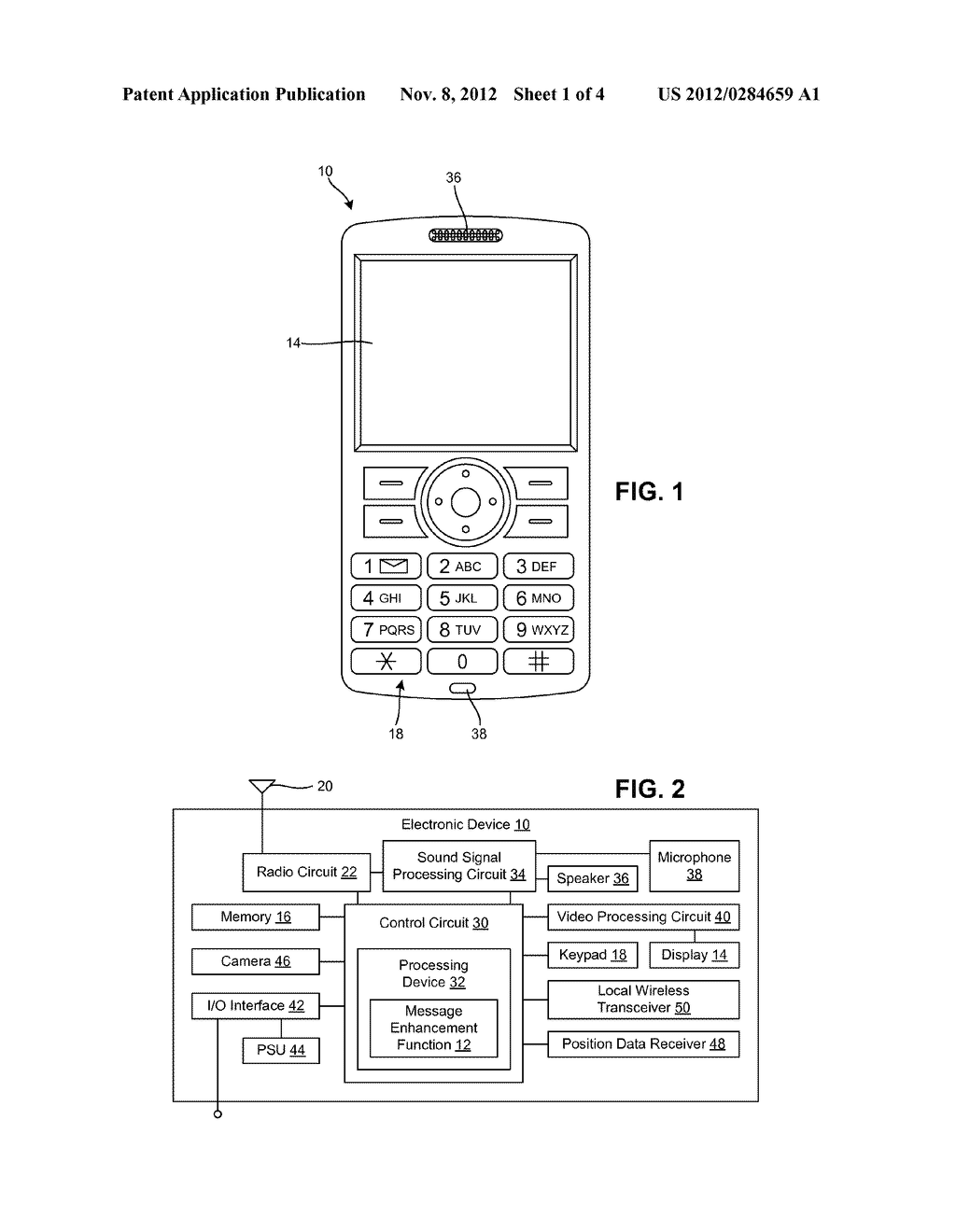 SYSTEM AND METHOD OF ENHANCING MESSAGES - diagram, schematic, and image 02