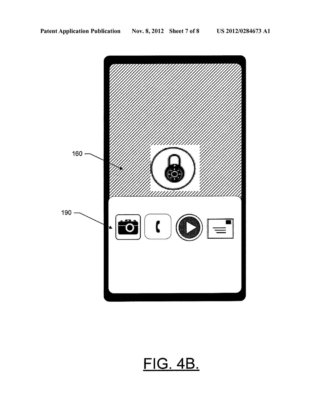 METHOD AND APPARATUS FOR PROVIDING QUICK ACCESS TO DEVICE FUNCTIONALITY - diagram, schematic, and image 08