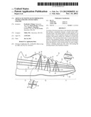 Article Of Footwear Incorporating Tensile Strands And Securing Strands diagram and image