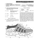 ARTICLE OF FOOTWEAR HAVING A FLAT KNIT UPPER CONSTRUCTION OR OTHER UPPER     CONSTRUCTION diagram and image
