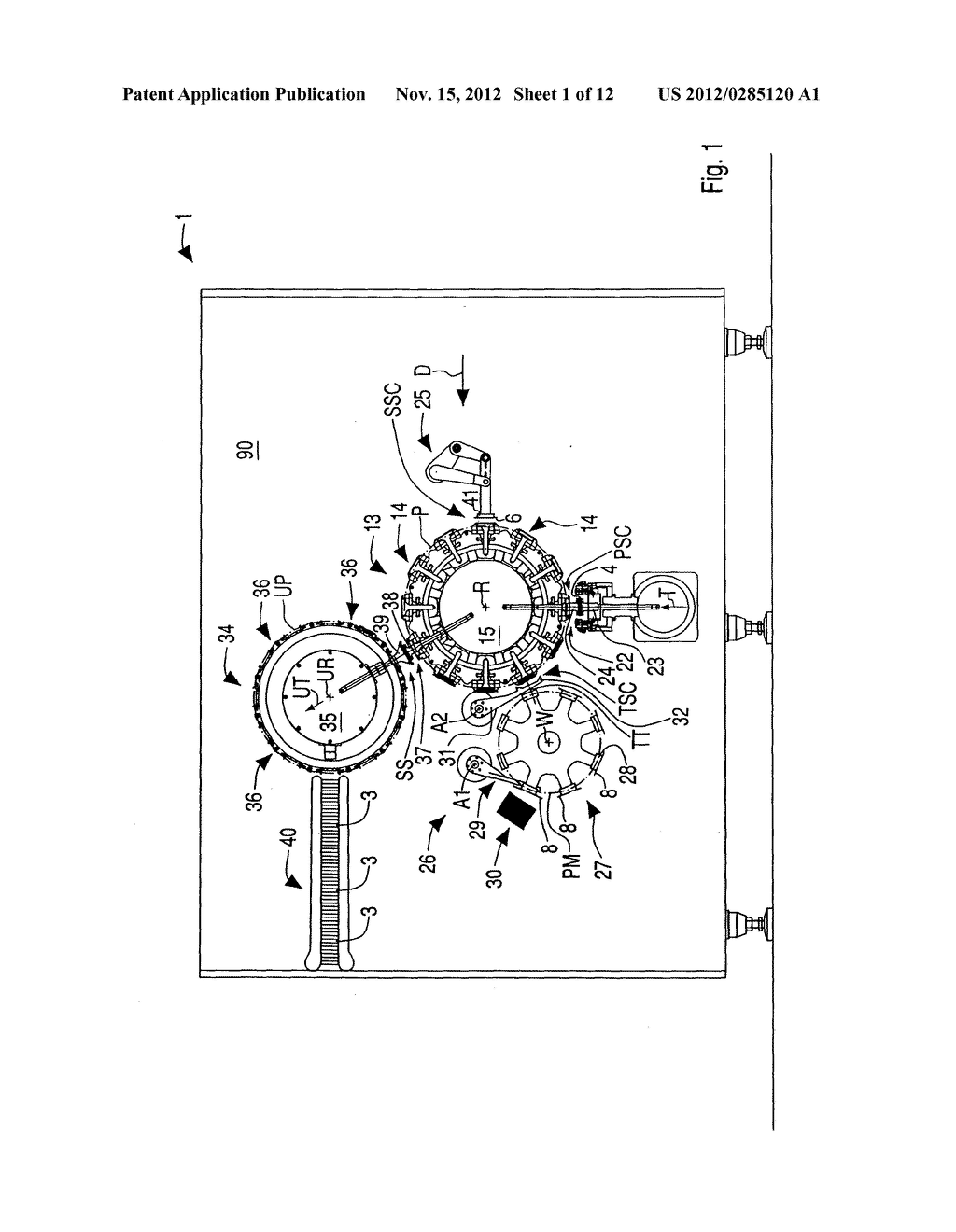 DRIVING APPARATUS FOR DRIVING OPERATIVE UNITS OF A PACKAGING MACHINE - diagram, schematic, and image 02