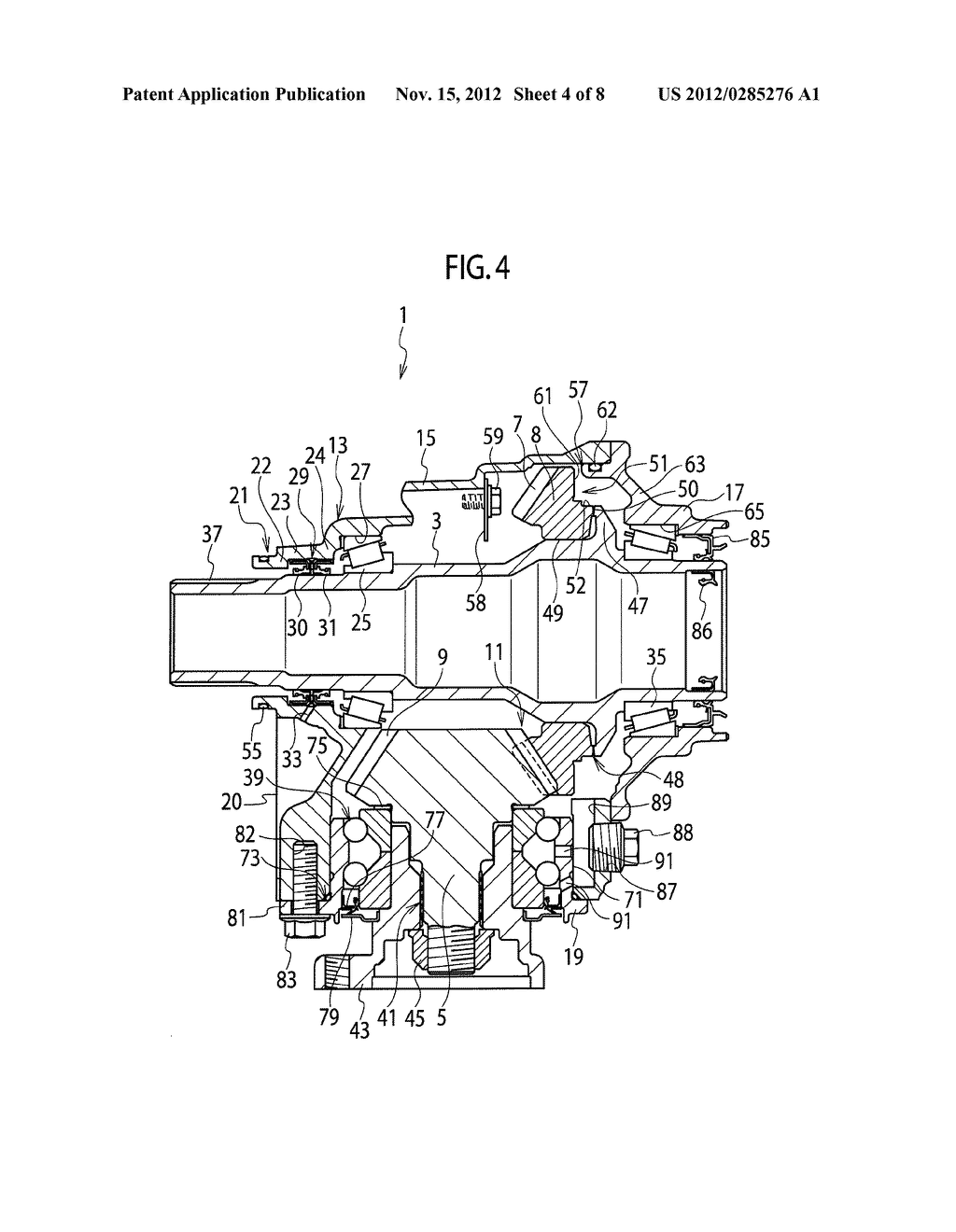 POWER TAKEOFF UNIT FOR AUTOMOBILE - diagram, schematic, and image 05