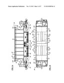 RAILROAD CAR AND DOOR MECHANISM THEREFOR diagram and image