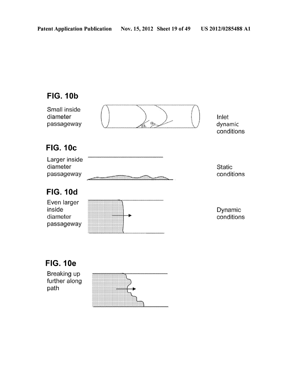 Apparatus and method for cleaning passageways such as endoscope channels     using flow of liquid and gas - diagram, schematic, and image 20