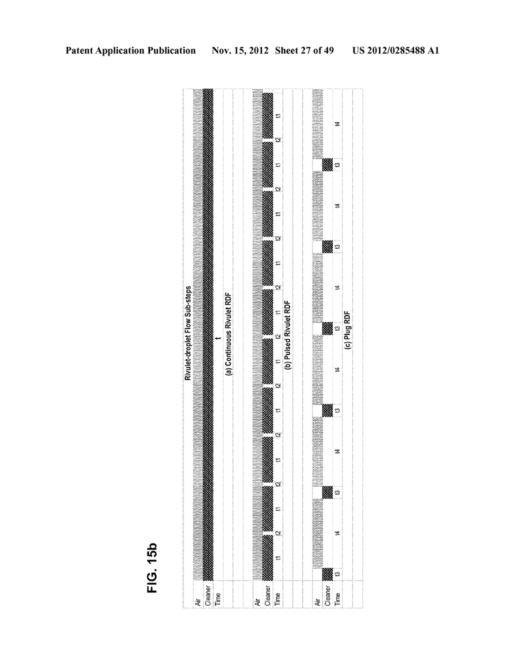 Apparatus and method for cleaning passageways such as endoscope channels     using flow of liquid and gas - diagram, schematic, and image 28