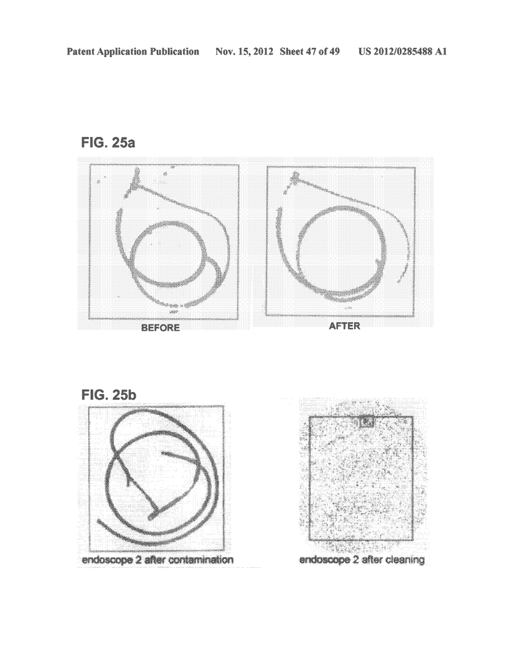 Apparatus and method for cleaning passageways such as endoscope channels     using flow of liquid and gas - diagram, schematic, and image 48