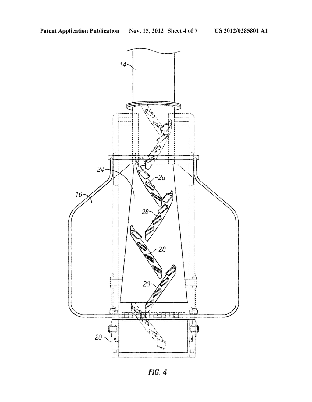 CROSS CLEATED CONVEYOR BELT FOR A TUBULAR CONVEYOR - diagram, schematic, and image 05