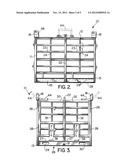 OFFSHORE CARGO RACK FOR USE IN TRANSFERRING PALLETIZED LOADS BETWEEN A     MARINE VESSEL AND AN OFFSHORE PLATFORM diagram and image