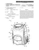 SCOOTER CARRYING CASE AND BACKPACK APPARATUS diagram and image