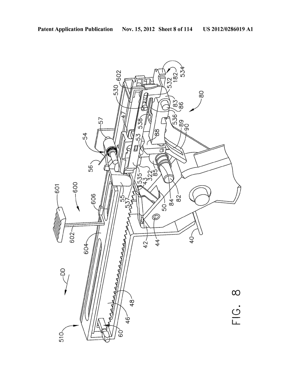 SURGICAL STAPLING APPARATUS WITH LOAD-SENSITIVE FIRING MECHANISM - diagram, schematic, and image 09
