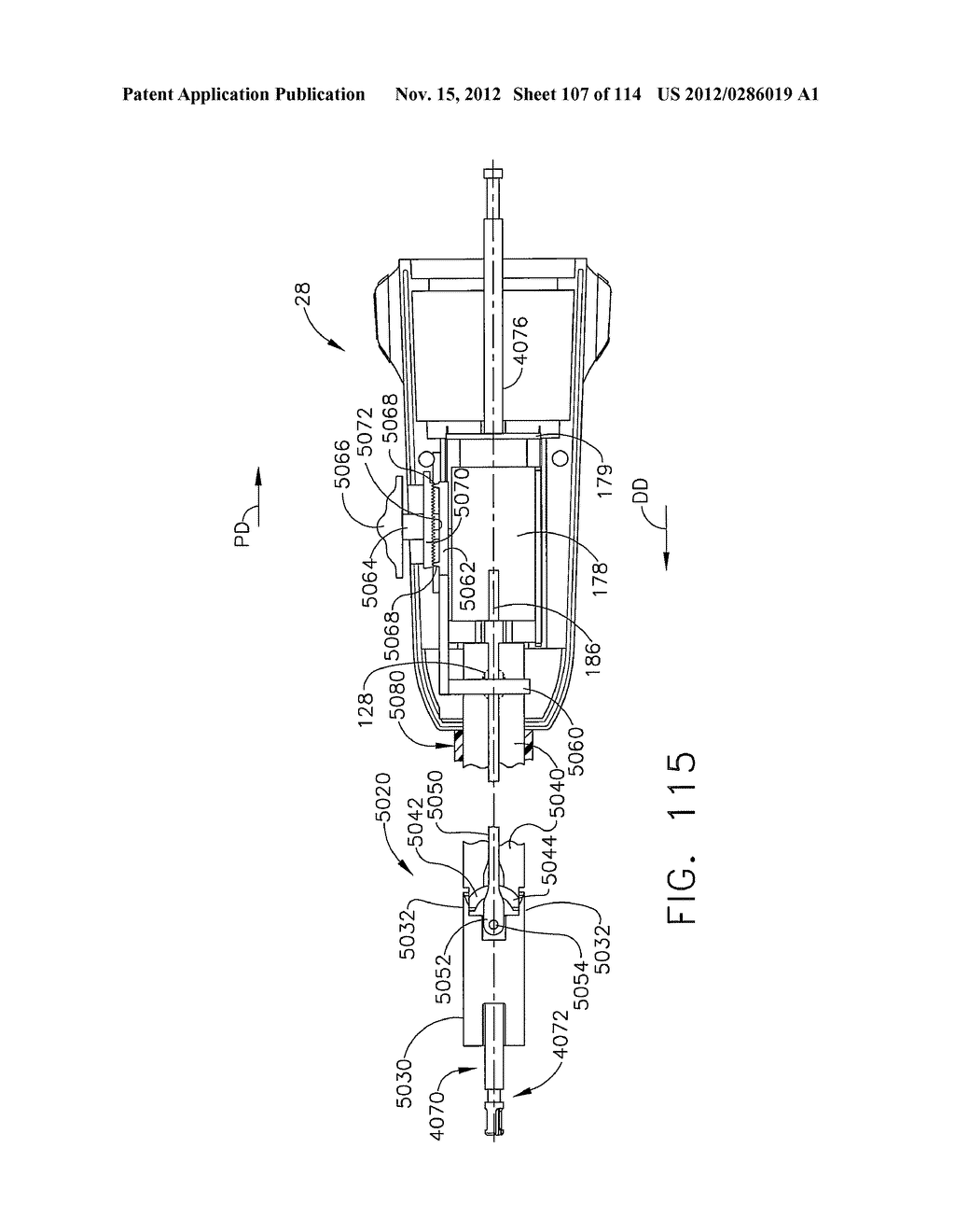 SURGICAL STAPLING APPARATUS WITH LOAD-SENSITIVE FIRING MECHANISM - diagram, schematic, and image 108