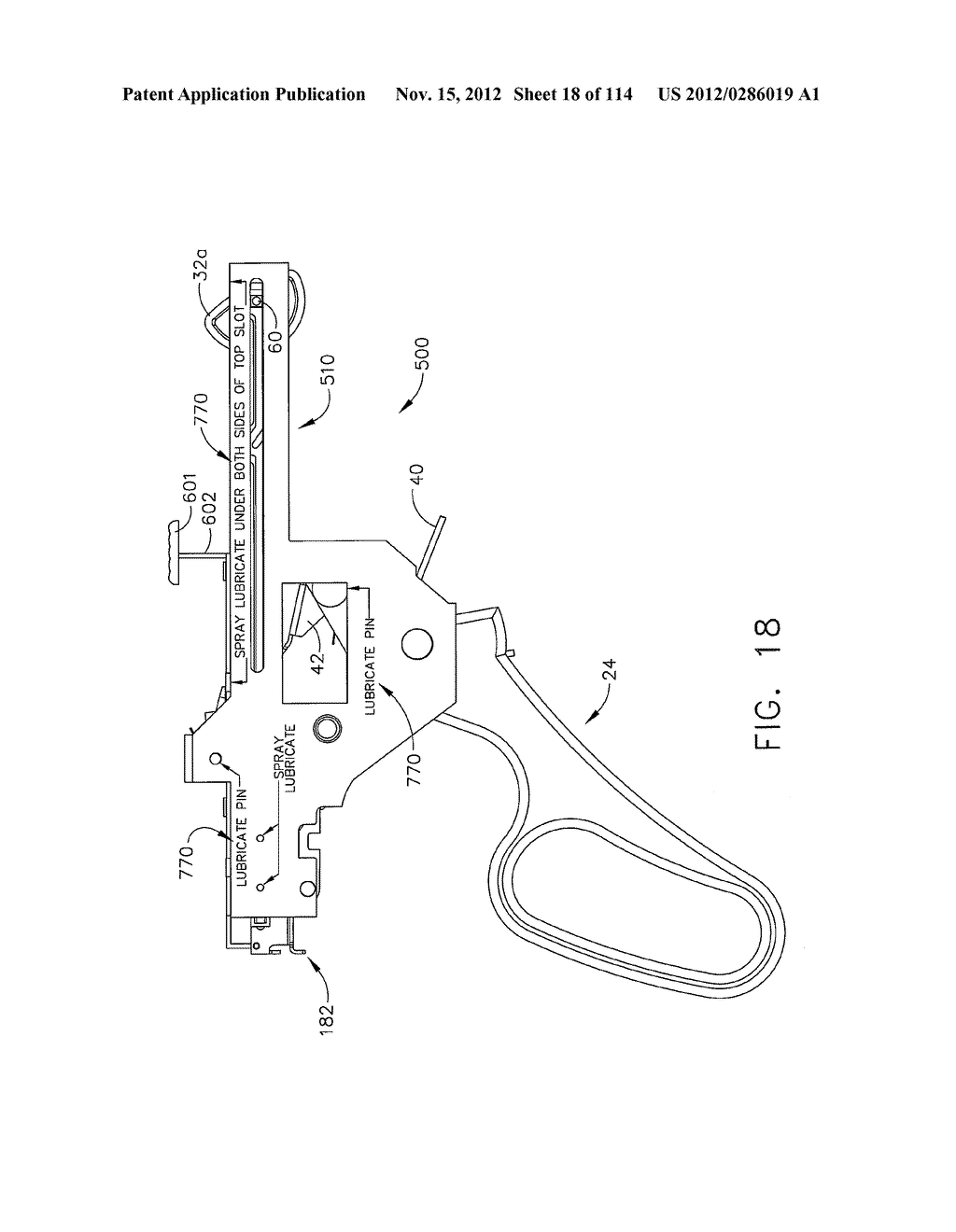 SURGICAL STAPLING APPARATUS WITH LOAD-SENSITIVE FIRING MECHANISM - diagram, schematic, and image 19