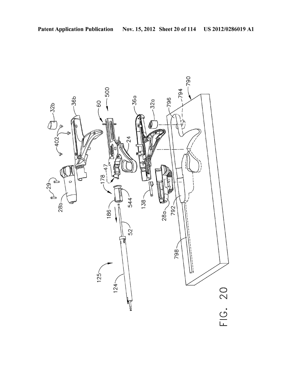 SURGICAL STAPLING APPARATUS WITH LOAD-SENSITIVE FIRING MECHANISM - diagram, schematic, and image 21
