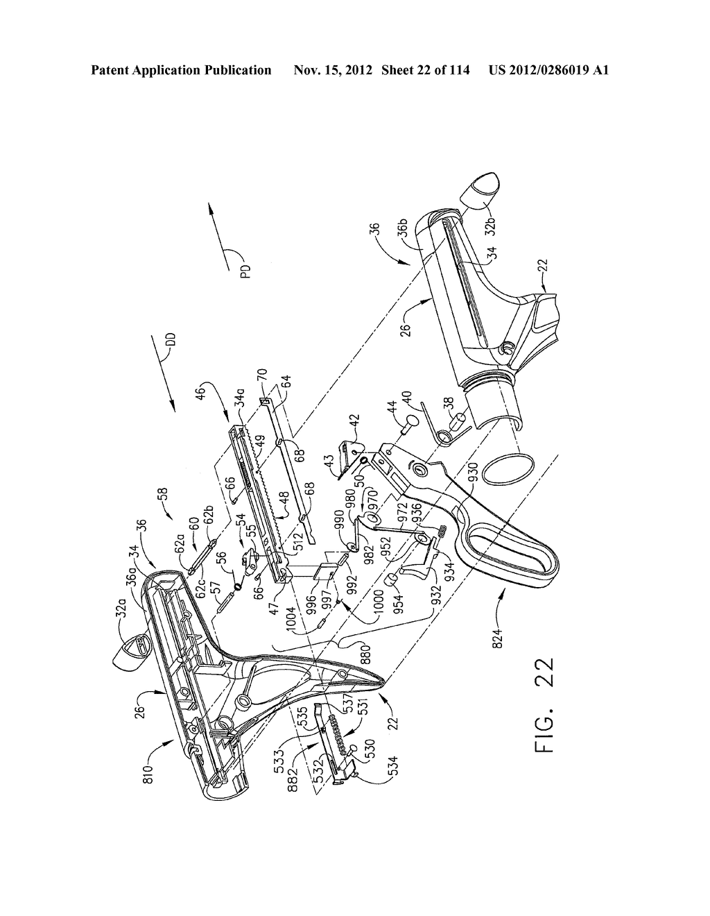 SURGICAL STAPLING APPARATUS WITH LOAD-SENSITIVE FIRING MECHANISM - diagram, schematic, and image 23