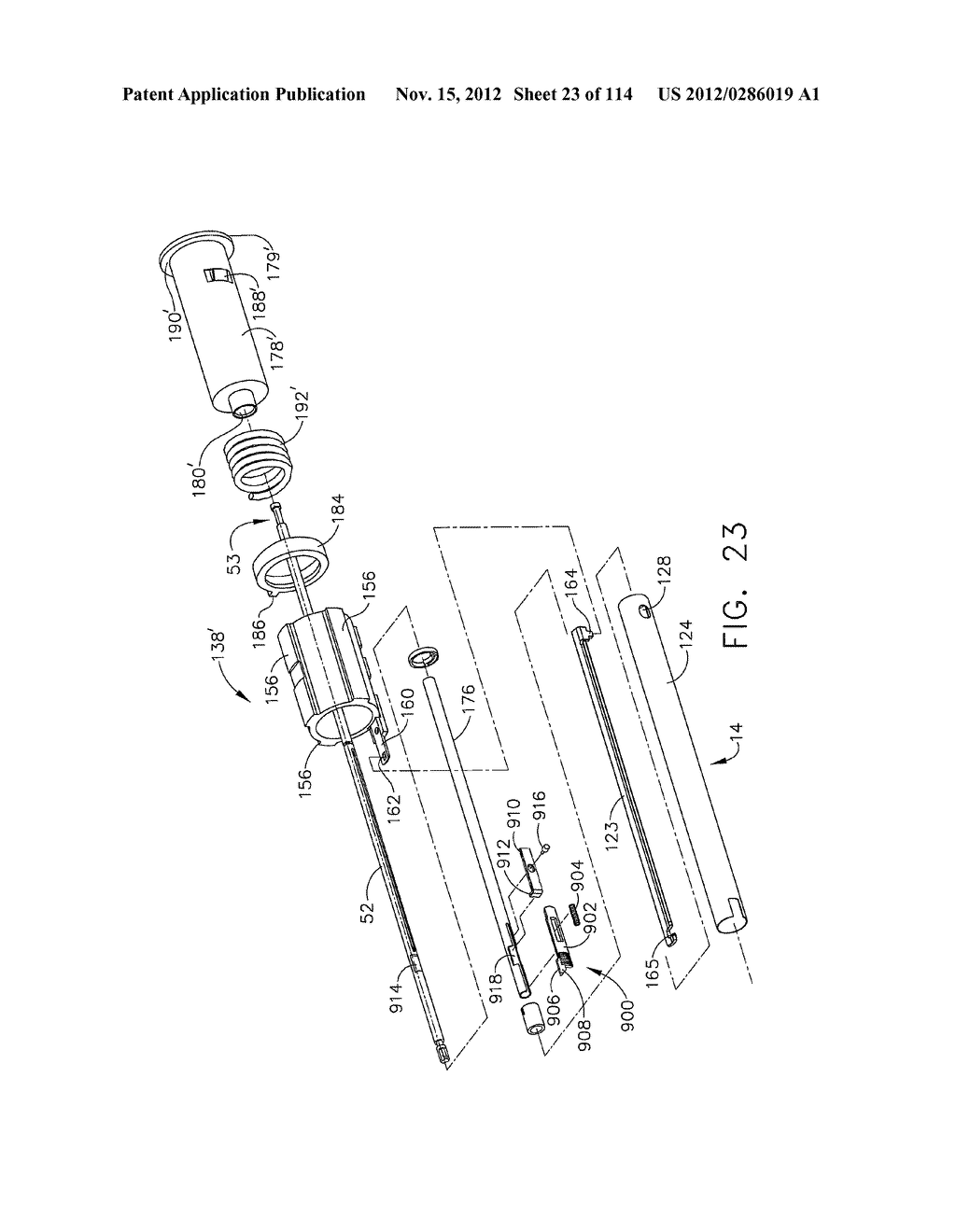 SURGICAL STAPLING APPARATUS WITH LOAD-SENSITIVE FIRING MECHANISM - diagram, schematic, and image 24