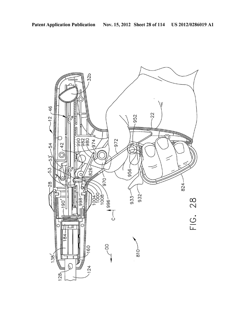 SURGICAL STAPLING APPARATUS WITH LOAD-SENSITIVE FIRING MECHANISM - diagram, schematic, and image 29