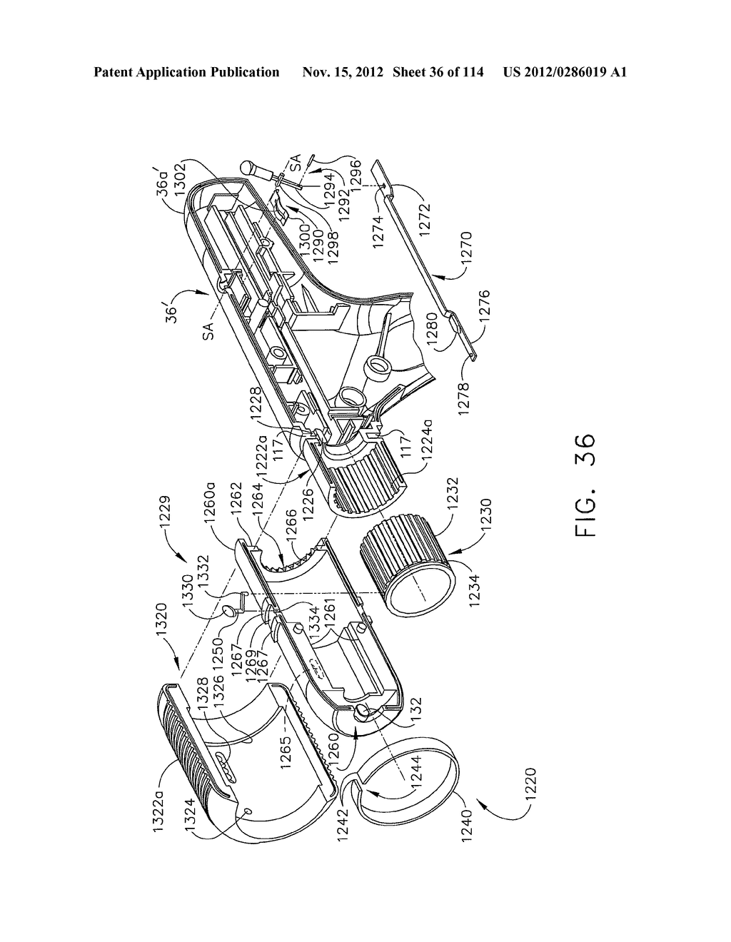SURGICAL STAPLING APPARATUS WITH LOAD-SENSITIVE FIRING MECHANISM - diagram, schematic, and image 37