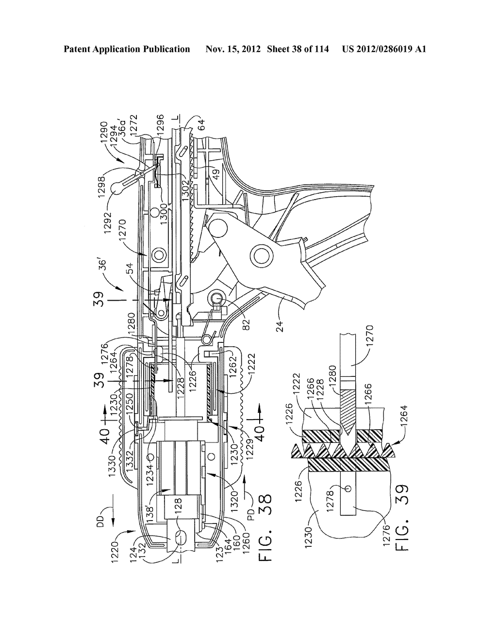 SURGICAL STAPLING APPARATUS WITH LOAD-SENSITIVE FIRING MECHANISM - diagram, schematic, and image 39