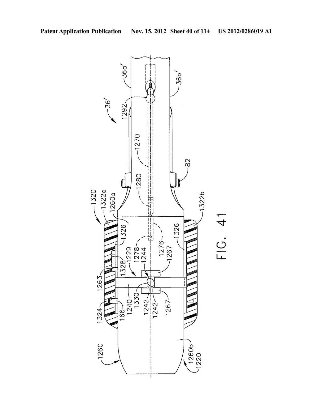 SURGICAL STAPLING APPARATUS WITH LOAD-SENSITIVE FIRING MECHANISM - diagram, schematic, and image 41