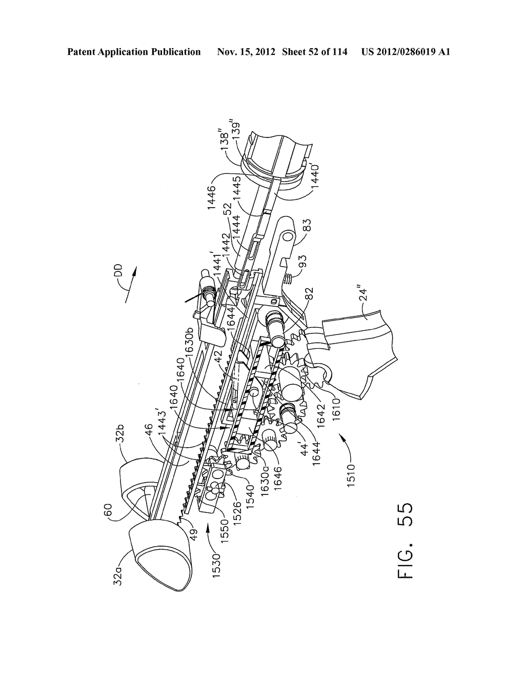 SURGICAL STAPLING APPARATUS WITH LOAD-SENSITIVE FIRING MECHANISM - diagram, schematic, and image 53