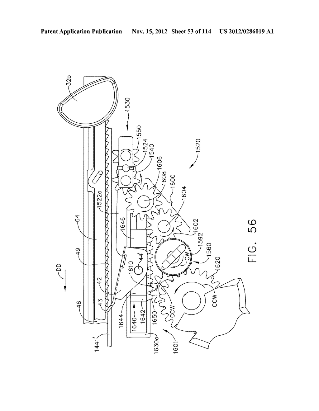 SURGICAL STAPLING APPARATUS WITH LOAD-SENSITIVE FIRING MECHANISM - diagram, schematic, and image 54