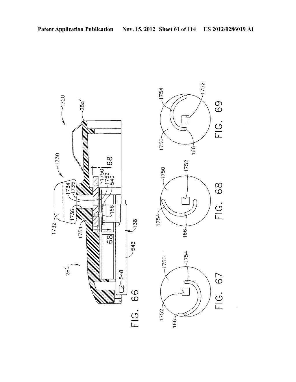 SURGICAL STAPLING APPARATUS WITH LOAD-SENSITIVE FIRING MECHANISM - diagram, schematic, and image 62