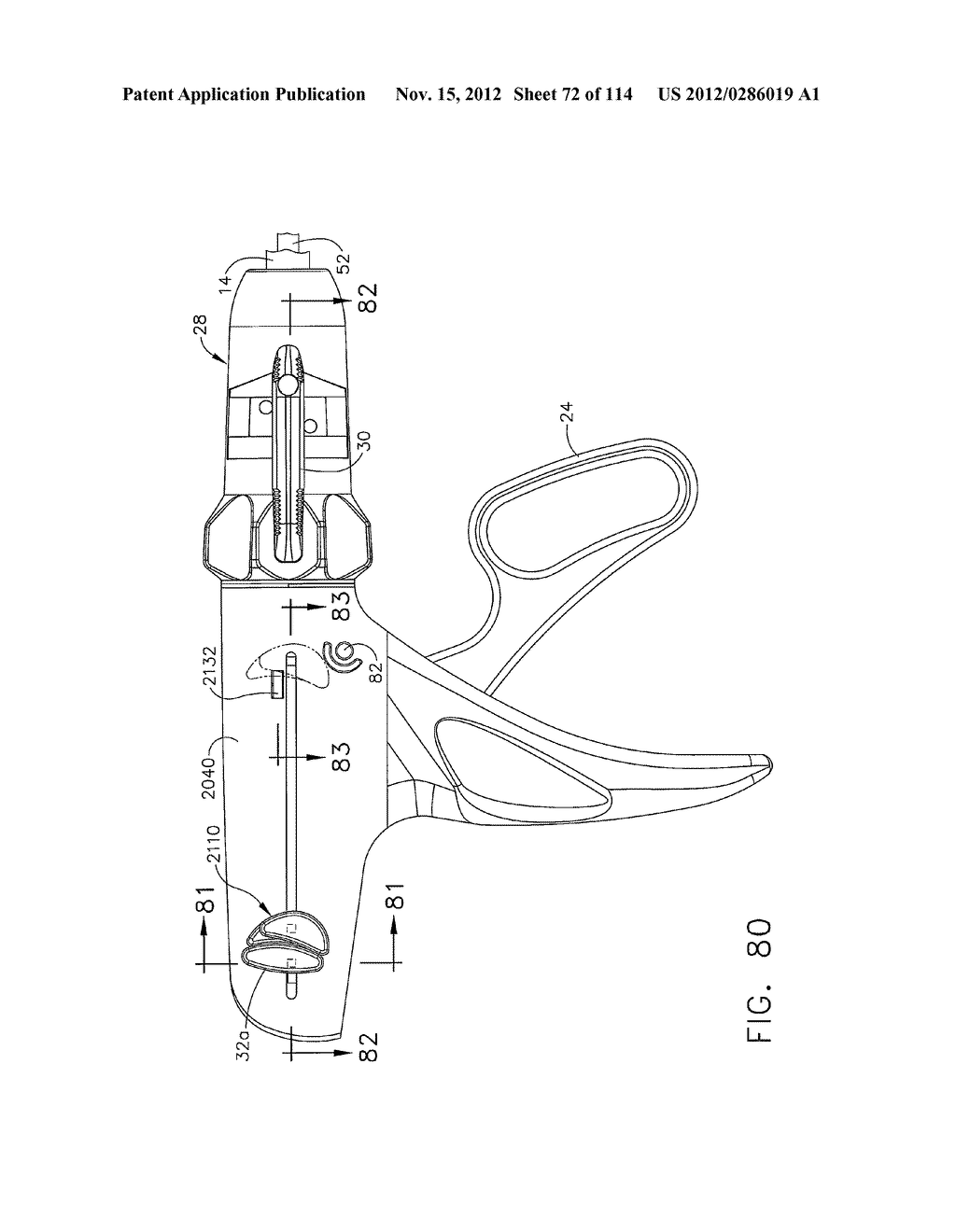 SURGICAL STAPLING APPARATUS WITH LOAD-SENSITIVE FIRING MECHANISM - diagram, schematic, and image 73