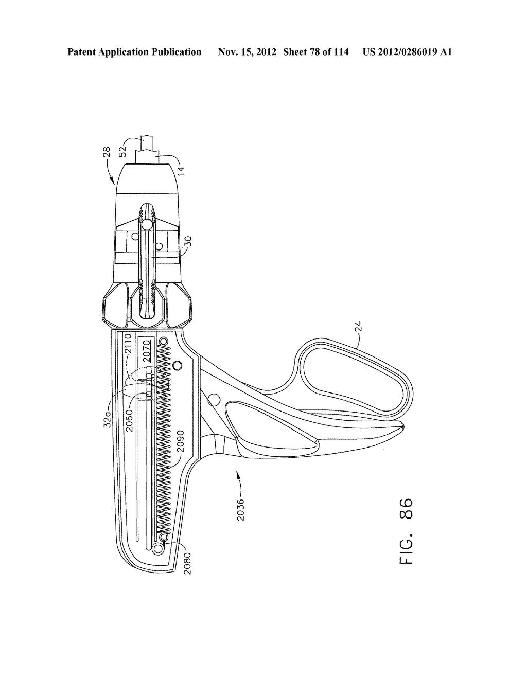SURGICAL STAPLING APPARATUS WITH LOAD-SENSITIVE FIRING MECHANISM - diagram, schematic, and image 79