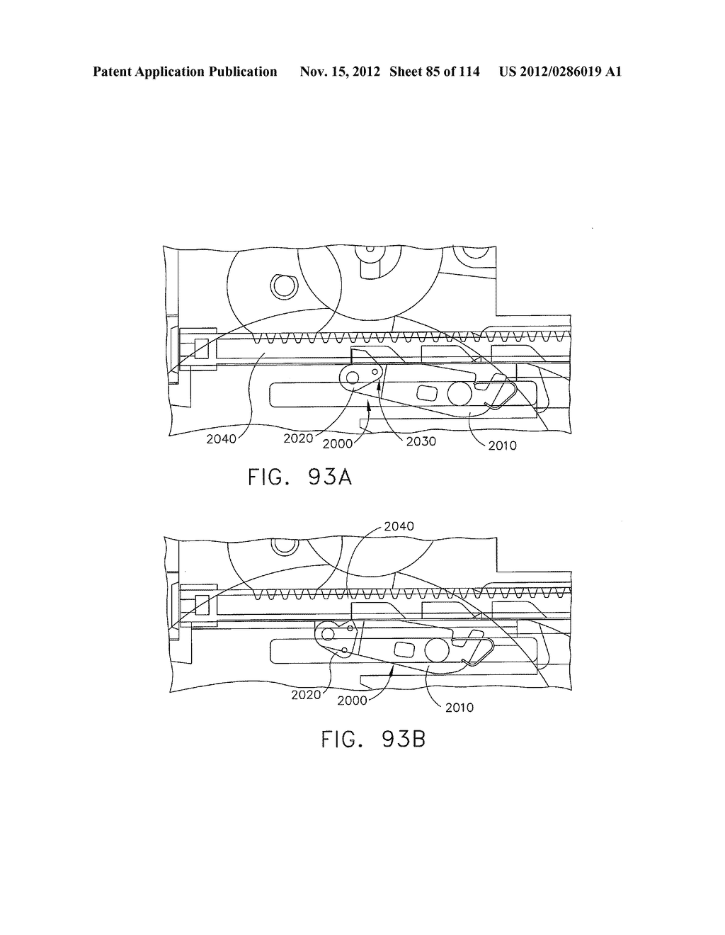 SURGICAL STAPLING APPARATUS WITH LOAD-SENSITIVE FIRING MECHANISM - diagram, schematic, and image 86
