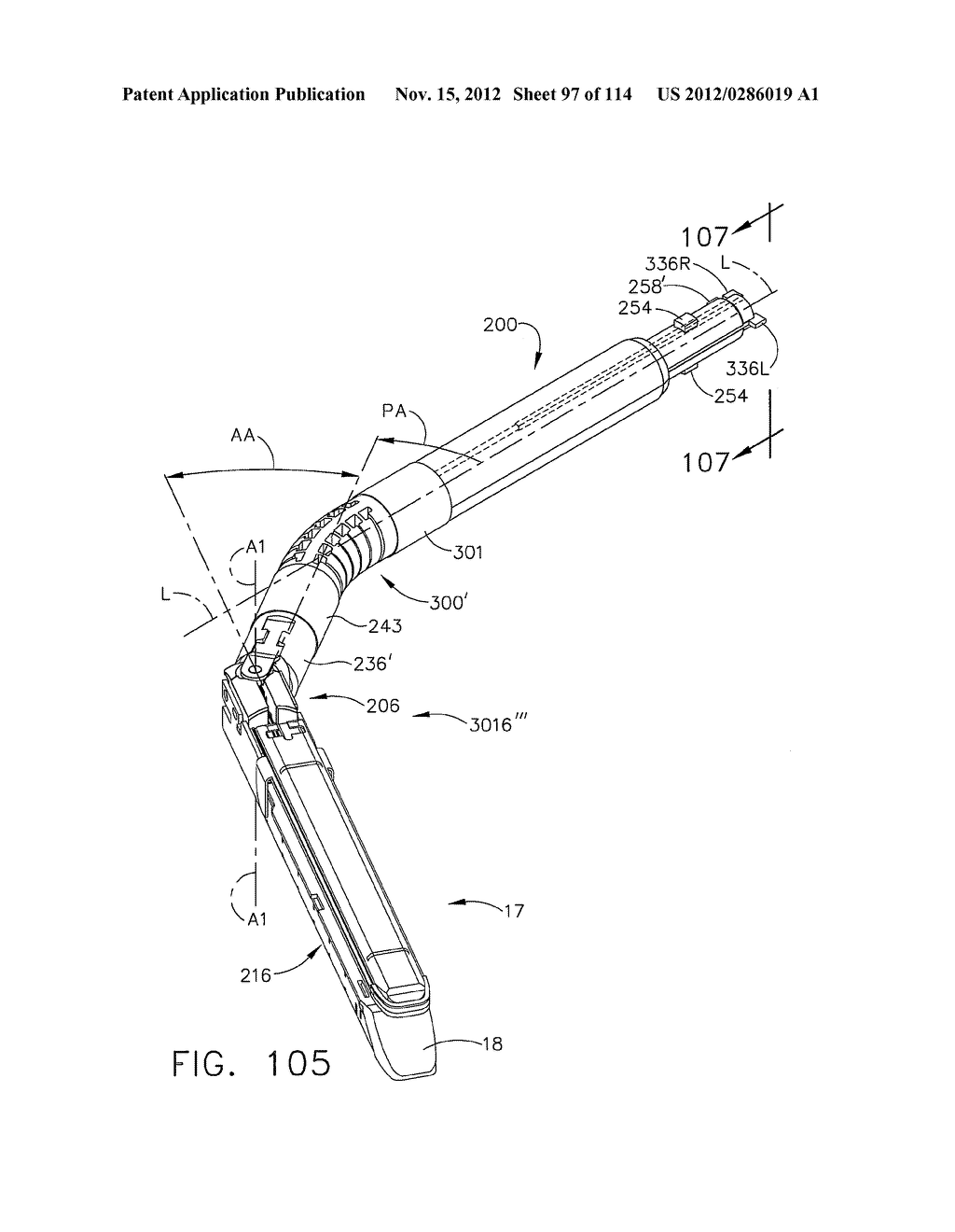 SURGICAL STAPLING APPARATUS WITH LOAD-SENSITIVE FIRING MECHANISM - diagram, schematic, and image 98