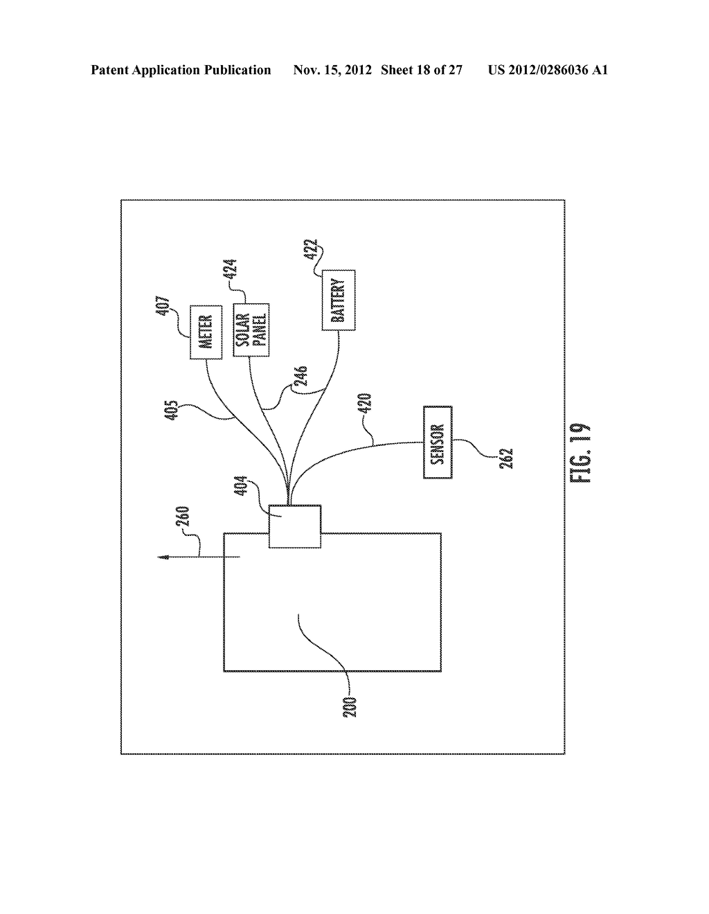 CONTROL SYSTEM FOR WIRELESS COMMUNICATION PARKING METER - diagram, schematic, and image 19