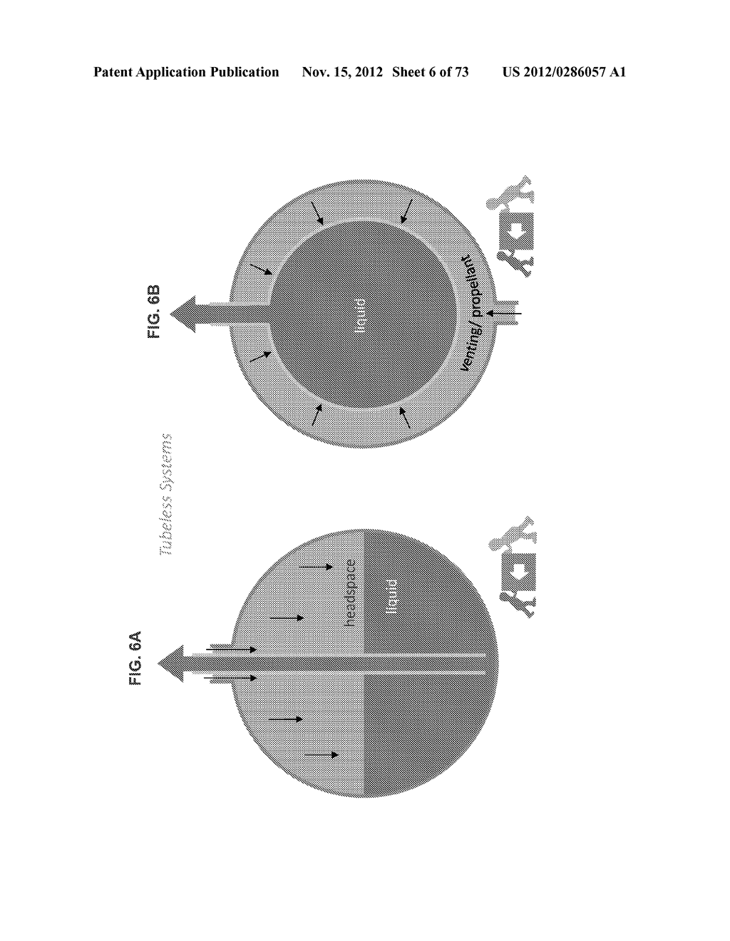 ISOLATION OF PRODUCT AND PROPELLANT IN VARIOUS DISPENSING DEVICES AND     PLATFORMS (