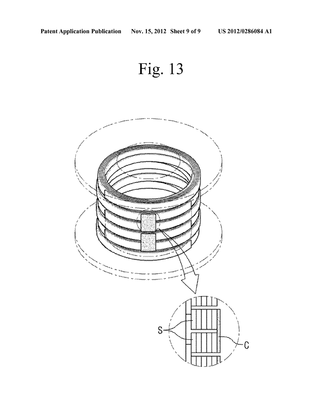BOBBIN FOR LAYER WINDING OF SUPERCONDUCTING WIRE AND LAYER WINDING METHOD     USING THE SAME - diagram, schematic, and image 10