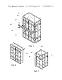 ADJUSTABLE METAL FORMWORK SYSTEM FOR CONCRETE STRUCTURES diagram and image