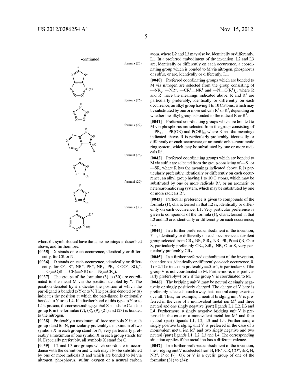 ELECTRONIC DEVICE COMPRISING METAL COMPLEXES - diagram, schematic, and image 06