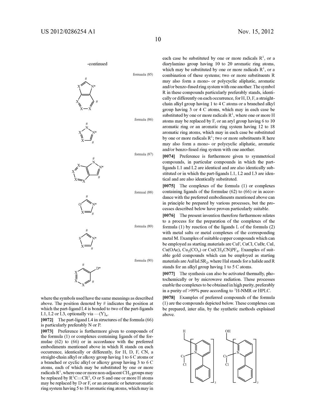 ELECTRONIC DEVICE COMPRISING METAL COMPLEXES - diagram, schematic, and image 11
