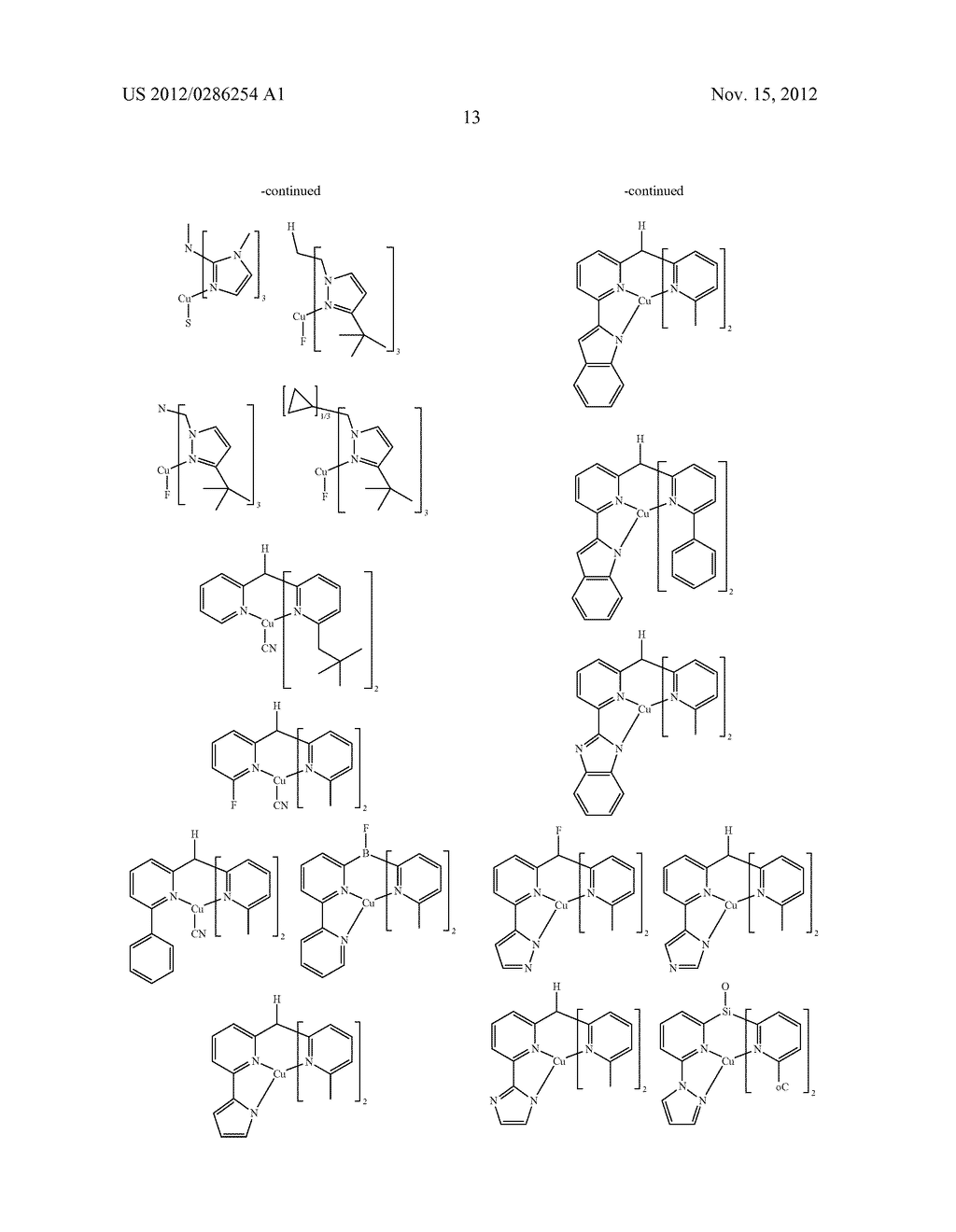 ELECTRONIC DEVICE COMPRISING METAL COMPLEXES - diagram, schematic, and image 14