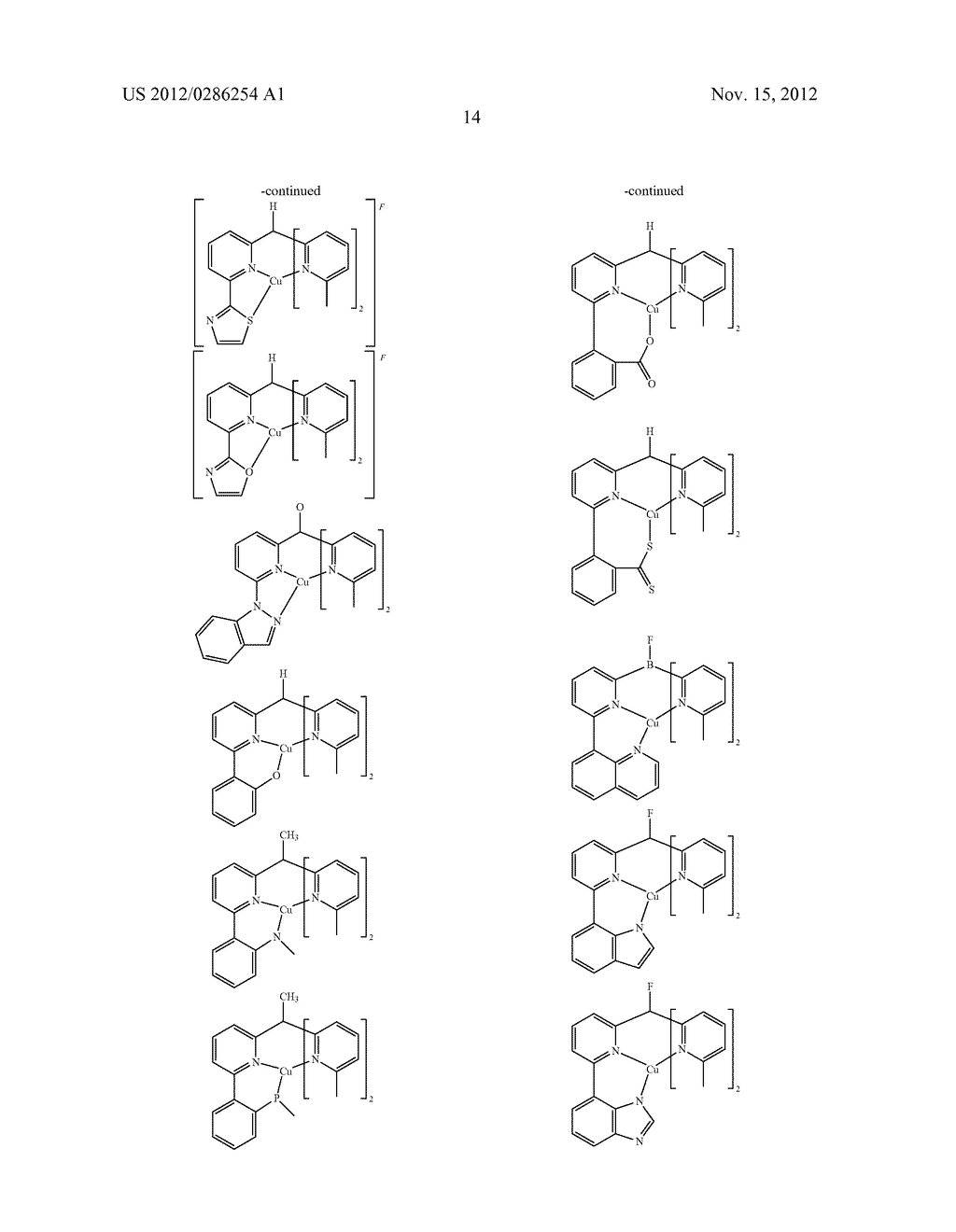 ELECTRONIC DEVICE COMPRISING METAL COMPLEXES - diagram, schematic, and image 15
