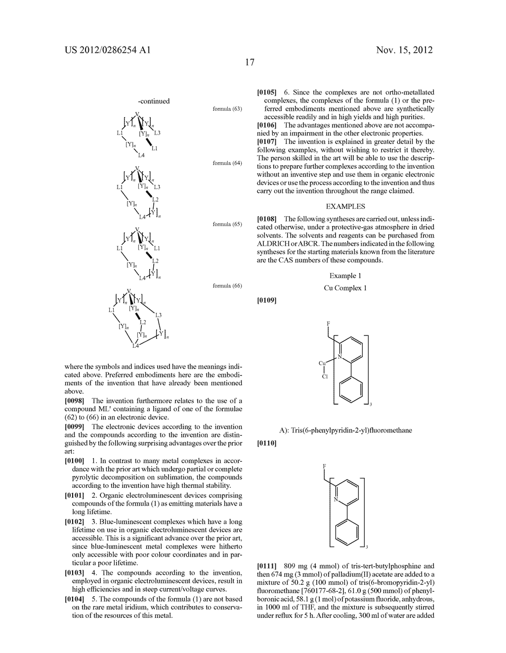 ELECTRONIC DEVICE COMPRISING METAL COMPLEXES - diagram, schematic, and image 18