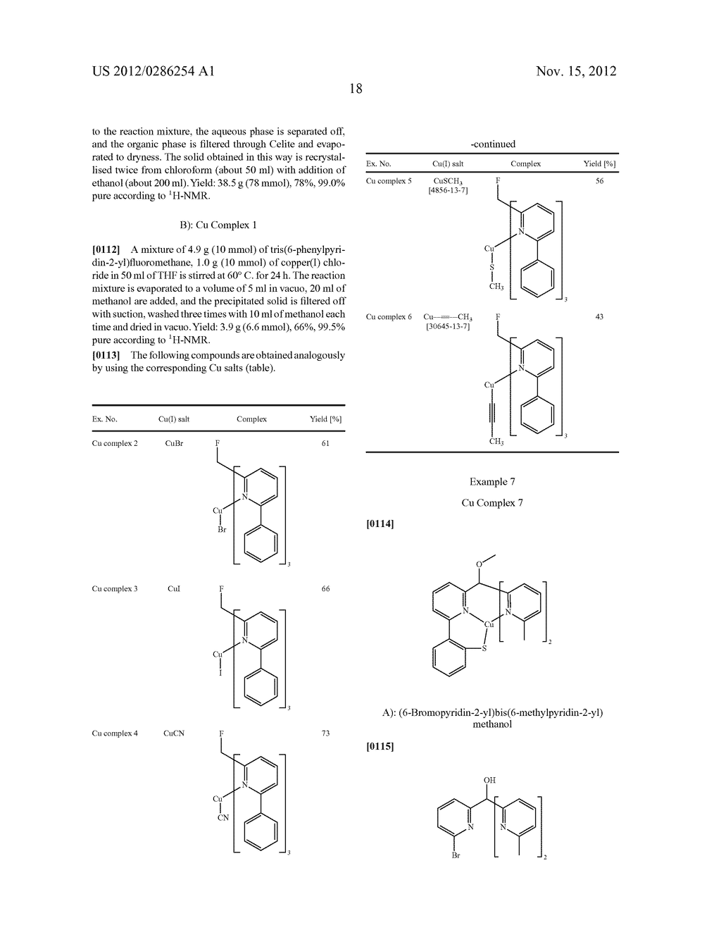 ELECTRONIC DEVICE COMPRISING METAL COMPLEXES - diagram, schematic, and image 19