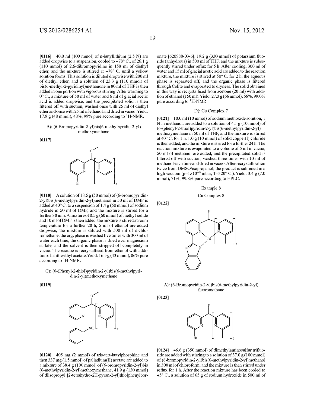 ELECTRONIC DEVICE COMPRISING METAL COMPLEXES - diagram, schematic, and image 20