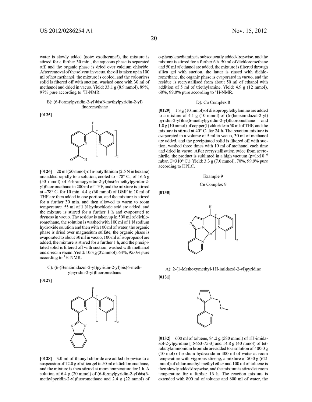 ELECTRONIC DEVICE COMPRISING METAL COMPLEXES - diagram, schematic, and image 21