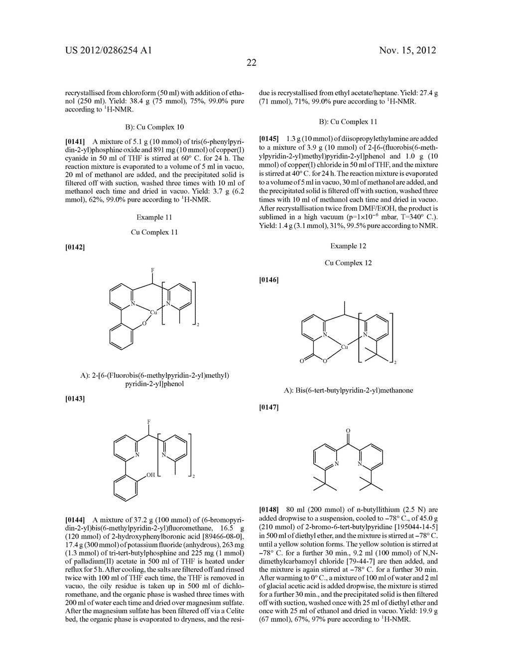 ELECTRONIC DEVICE COMPRISING METAL COMPLEXES - diagram, schematic, and image 23