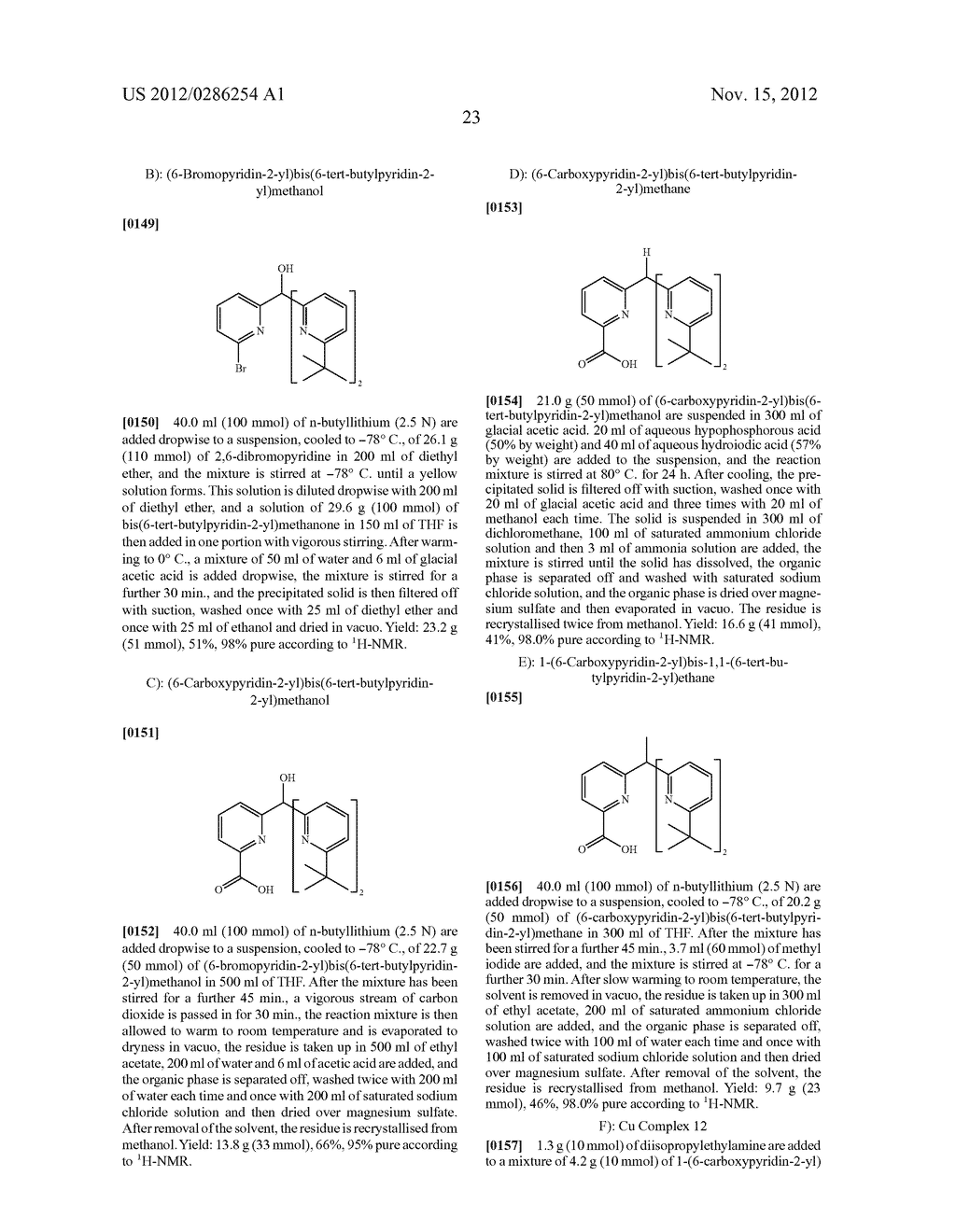 ELECTRONIC DEVICE COMPRISING METAL COMPLEXES - diagram, schematic, and image 24
