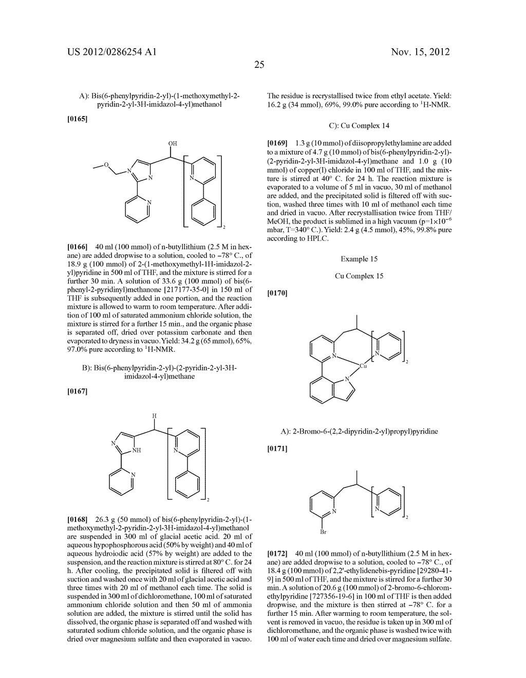 ELECTRONIC DEVICE COMPRISING METAL COMPLEXES - diagram, schematic, and image 26