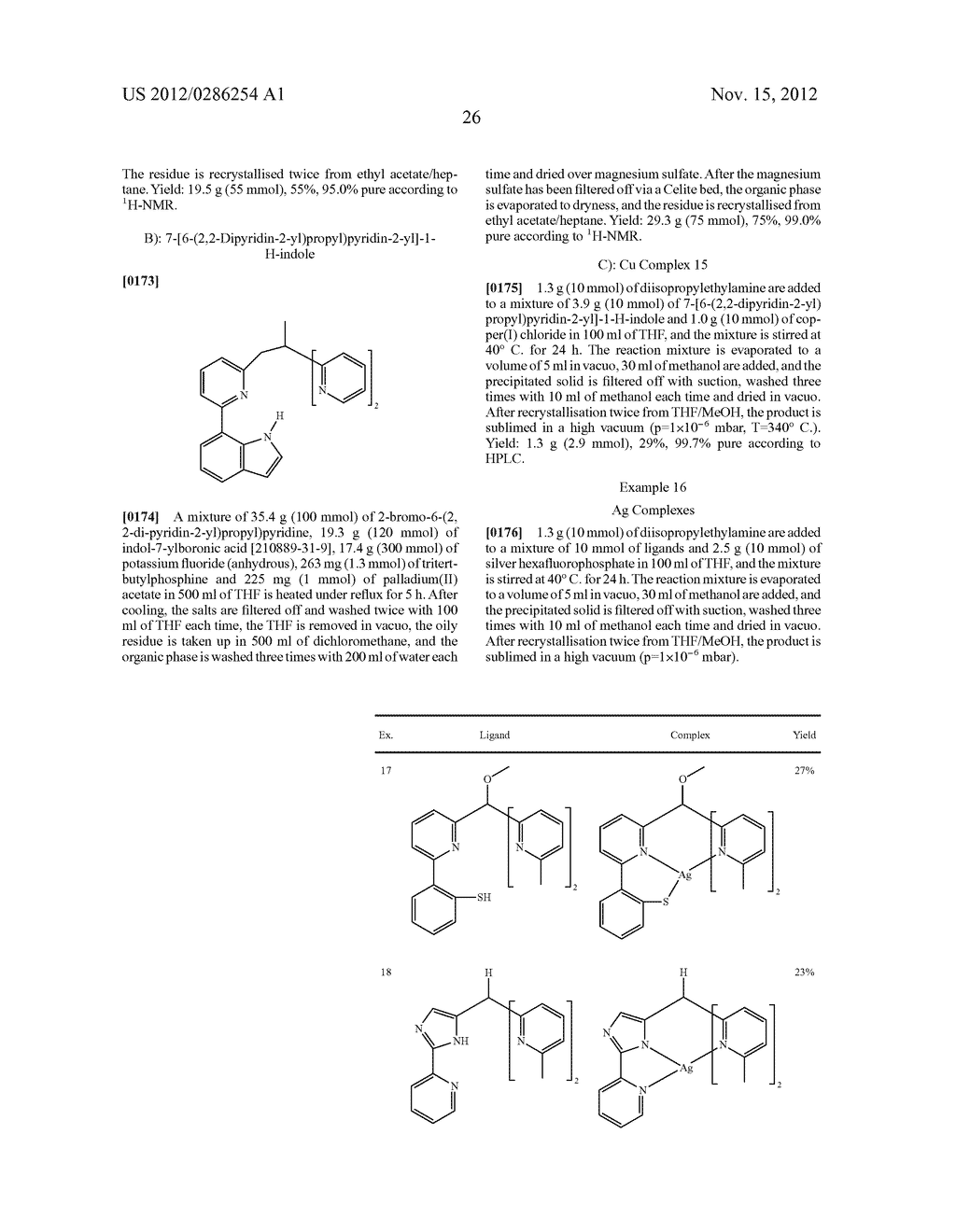 ELECTRONIC DEVICE COMPRISING METAL COMPLEXES - diagram, schematic, and image 27