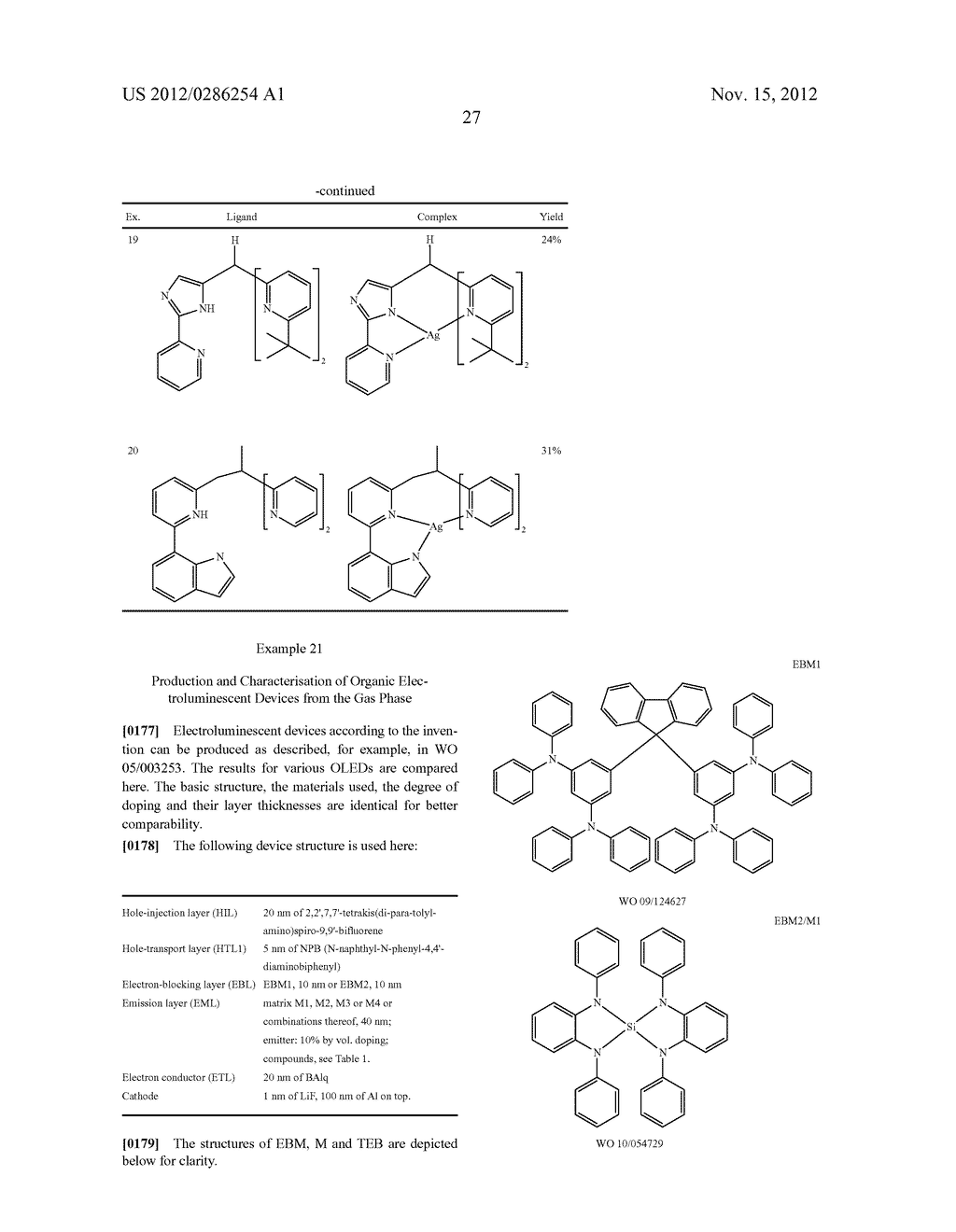 ELECTRONIC DEVICE COMPRISING METAL COMPLEXES - diagram, schematic, and image 28