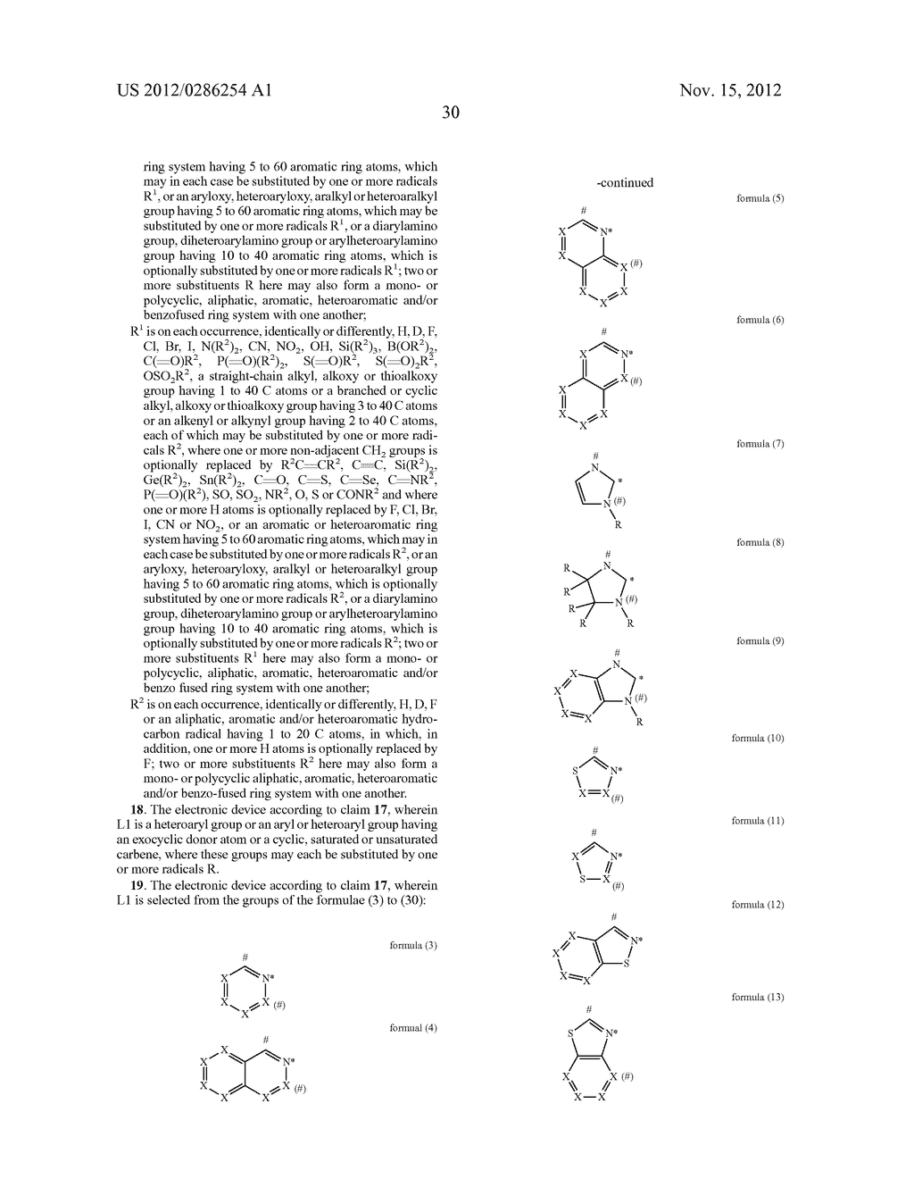 ELECTRONIC DEVICE COMPRISING METAL COMPLEXES - diagram, schematic, and image 31