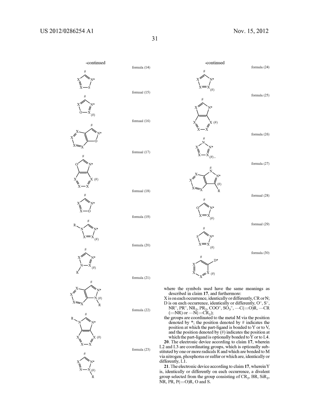 ELECTRONIC DEVICE COMPRISING METAL COMPLEXES - diagram, schematic, and image 32